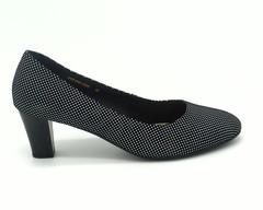 Туфли мультиколор из натурльной кожи