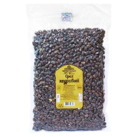 Орехи кедровые в скорлупе (вакуумная упаковка), 500 грамм
