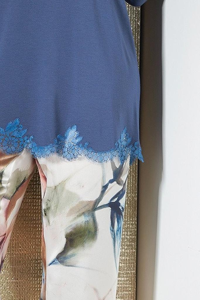 Пижама с шелковыми брюками Verdiani
