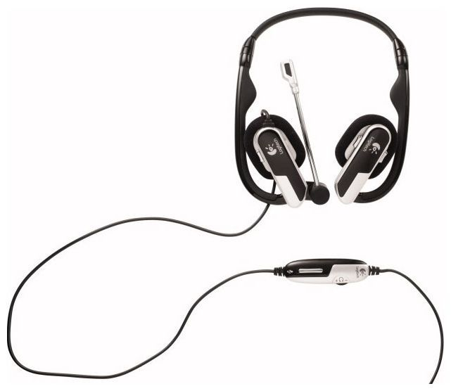 LOGITECH Laptop Headset H555 USB