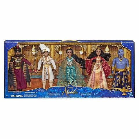 Disney Aladdin Agrabah Collection, 5 Fashion Dolls