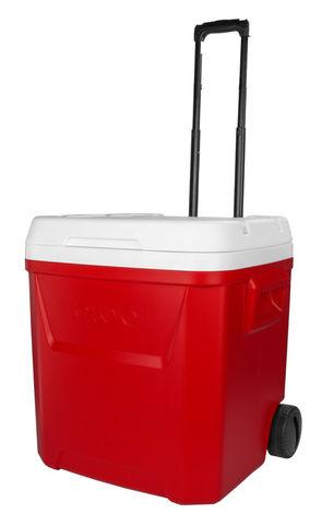 Изотермический контейнер (термобокс) Igloo ICE CUBE 60 QUART ROLLER (термоконтейнер, 57 л.)