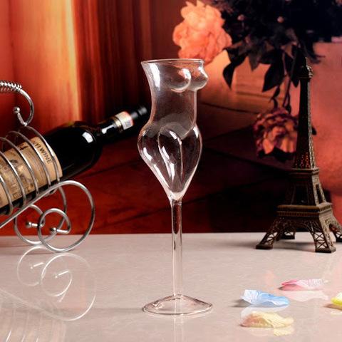 Бокал для вина «Женская фигура», 200 мл