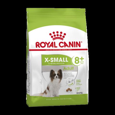 Royal Canin X-small Adult 8+ Сухой корм для собак очень мелких пород старше 8 лет