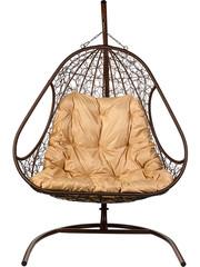 Подвесное кресло двухместное Primavera Brown