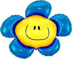F Мини-фигура, Цветочек (солнечная улыбка), Синий, 14