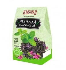 БЕЛТЕЯ  Успокаивающий напиток чайный 20пак Иван-чай с мелиссой от бессонницы