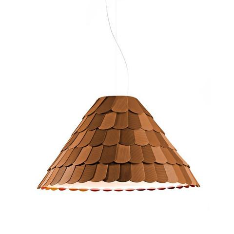Подвесной светильник копия Roofer F12 by Benjamin Hubert (коричневый)