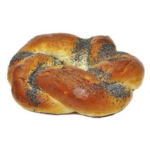Калач с маком  Каравай-СВ (хлеб и выпечка) 0,2кг