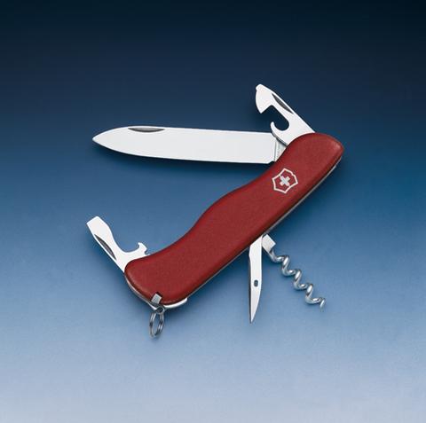 Нож Victorinox Picknicker, 111 мм, 11 функций, красный123