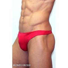Мужские трусы стринги красные Romeo Rossi Dream String RR1005-8