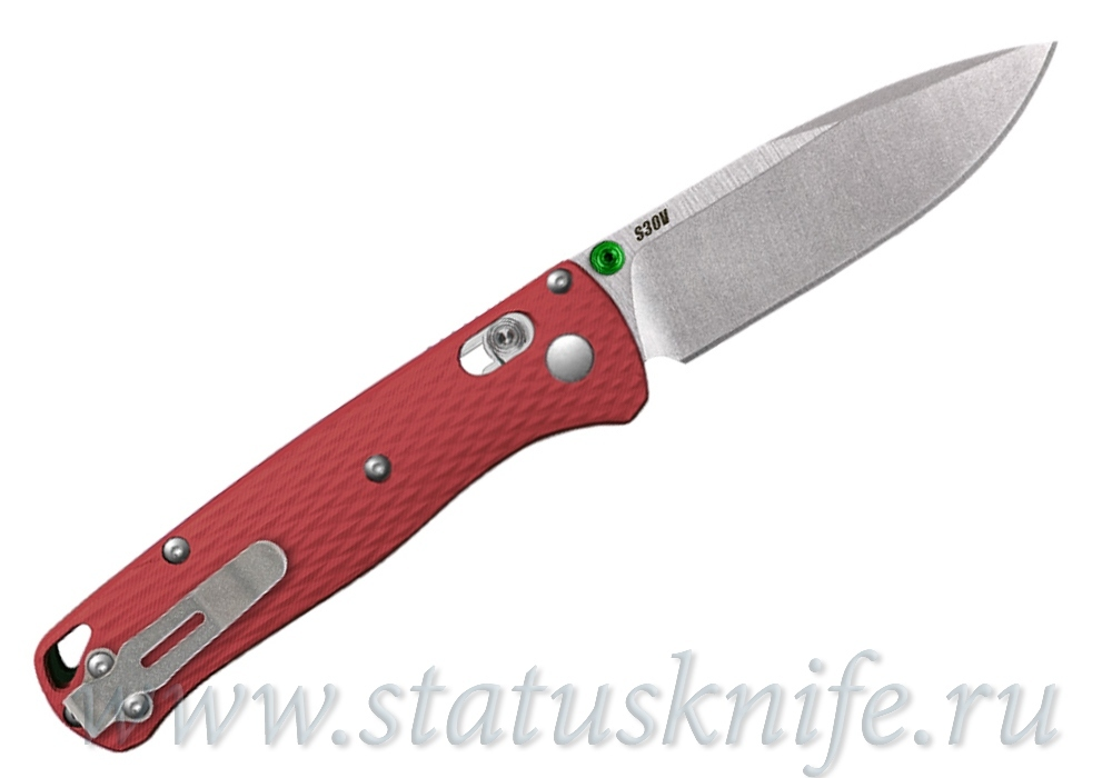 Нож Benchmade CU535-SS-S30V-G10-RED Bugout - фотография