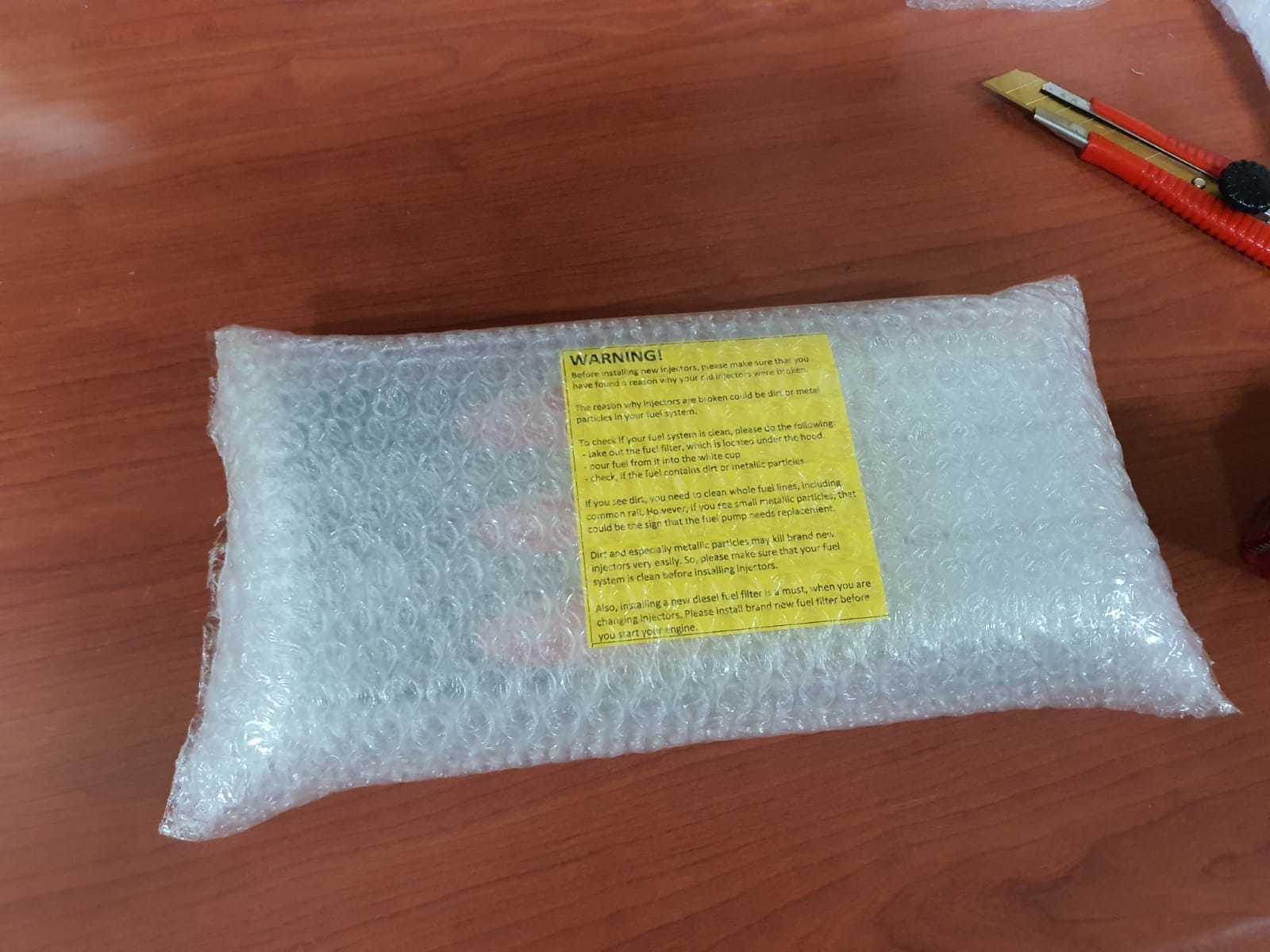 Упаковка заказа перед отправкой