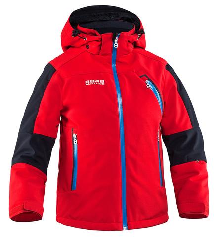 Куртка горнолыжная детская 8848 Altitude «BAM» Red