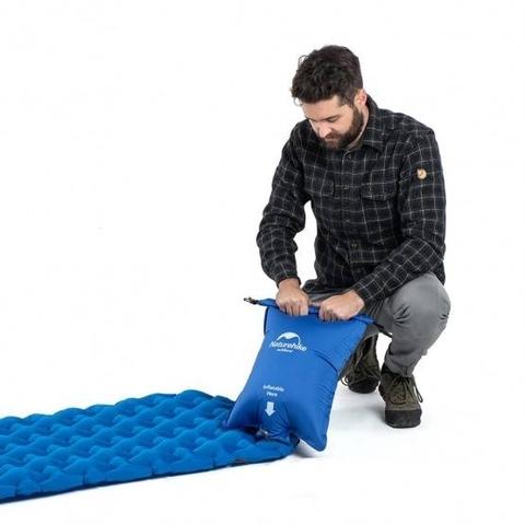 Надувной туристический коврик Naturehike FC-12