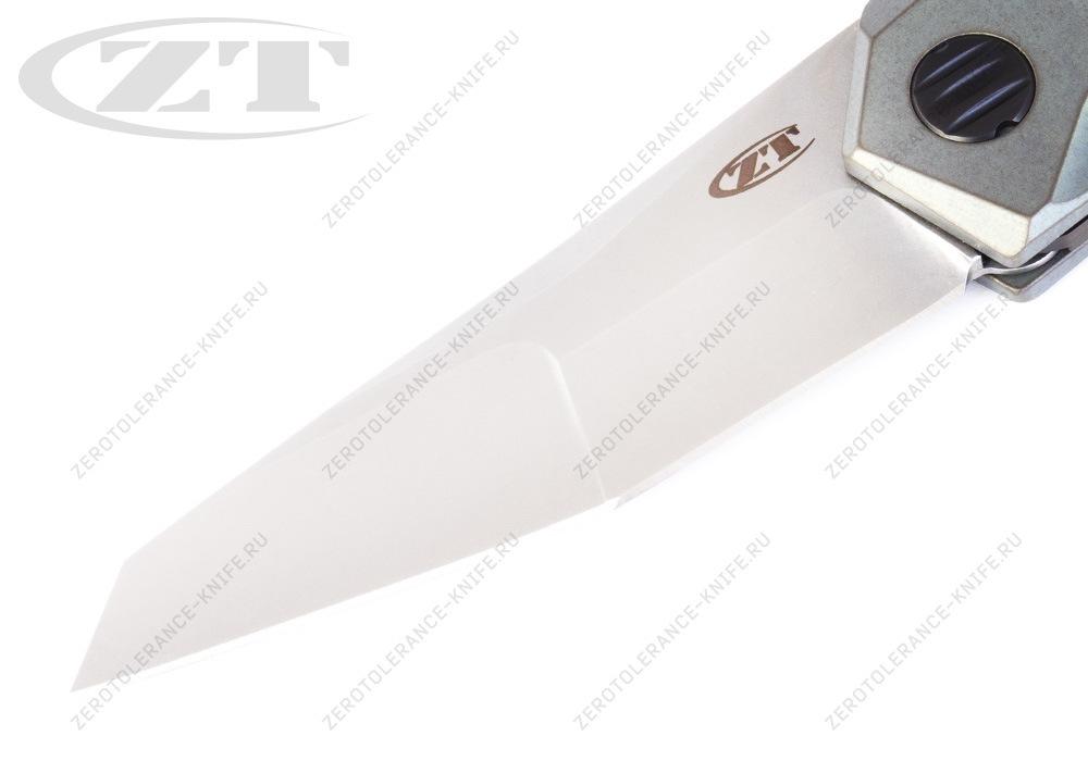 Нож Zero Tolerance 0055 GTC Green - фотография