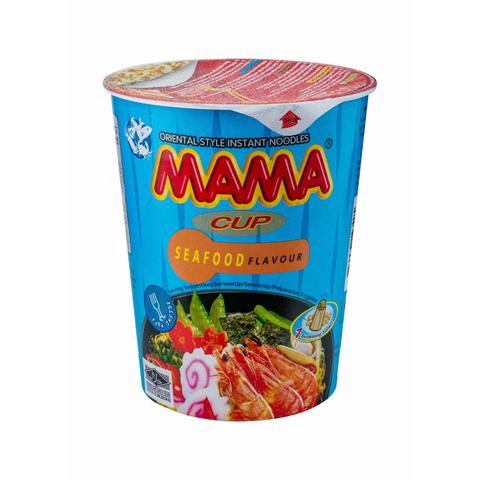 Лапша тайская быстрого приготовления Мама со вкусом морепродуктов, 70г