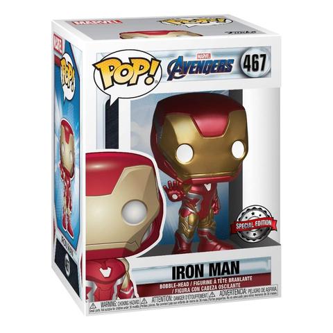 Фигурка Funko POP! Bobble Marvel Avengers Endgame Iron Man 36674