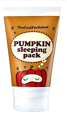 Маска энзимная ночная с тыквой и керамидами Too Cool For School - Pumpkin sleeping pack, 100 мл