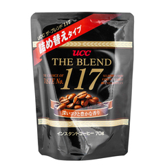 Кофе растворимый UCC Коллекция 117 мягкая упаковка 70 гр