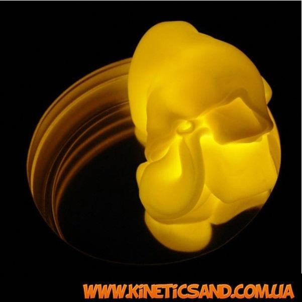 Светящийся хендгам желтый