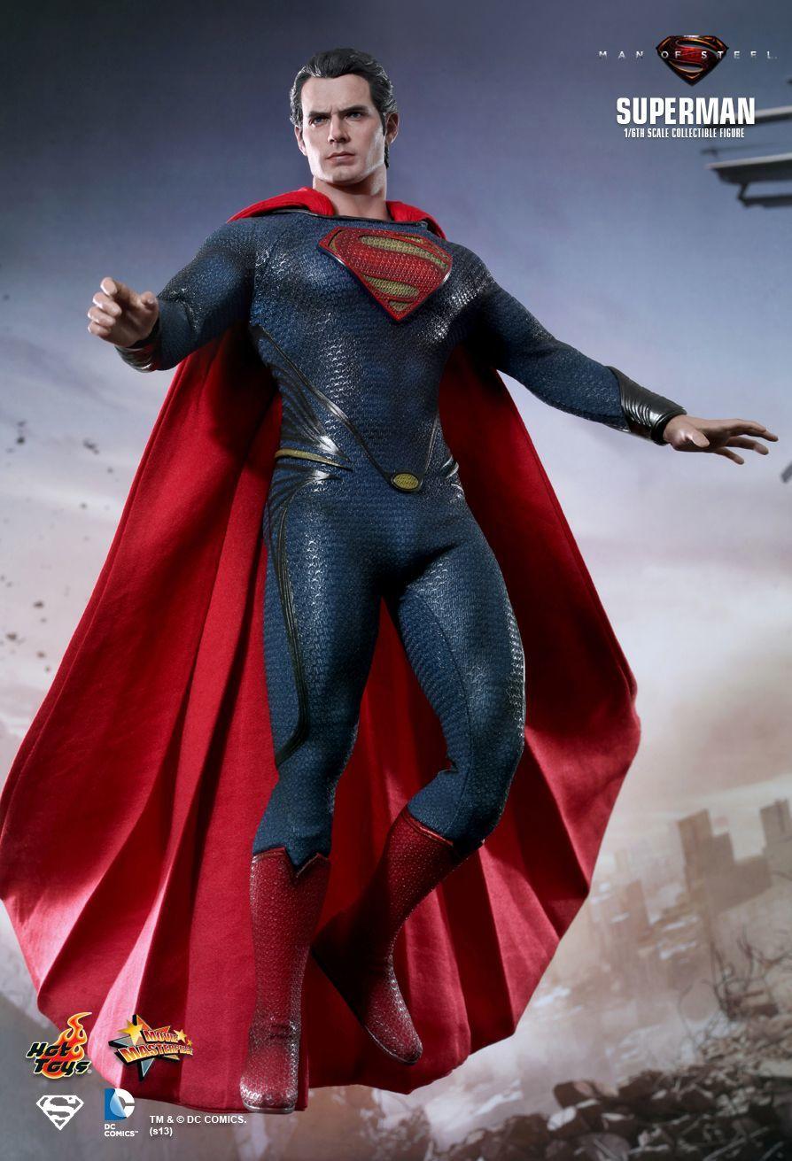 Man of Steel 1/6 Scale Movie Masterpiece Superman
