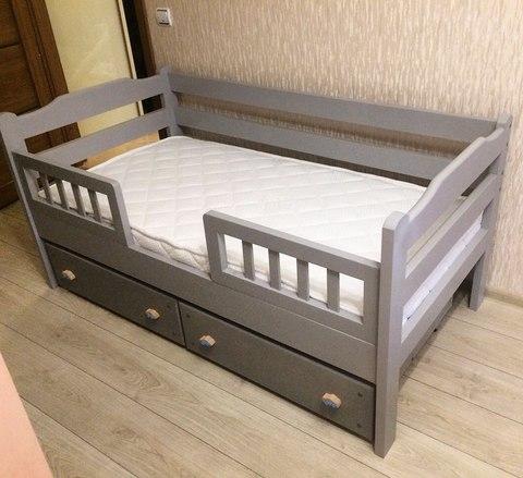 Детская кровать Аленка с ящиком