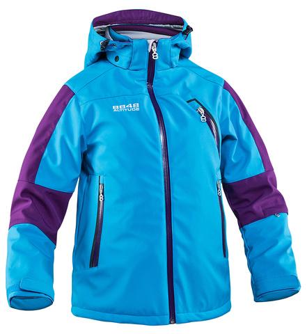 Куртка горнолыжная детская 8848 Altitude «BAM» Turqouise