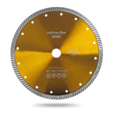 Алмазный турбо диск Messer Yellow Line Granite. Диаметр 125 мм.