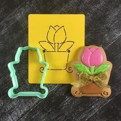 Тюльпан №18 в вазе
