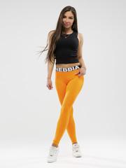 Лосины NEBBIA Squad Hero Scrunch Butt leggings 528 ORANGE