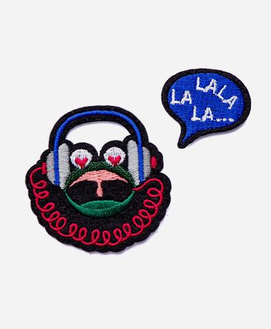 Патч-заплатка LALALA frog
