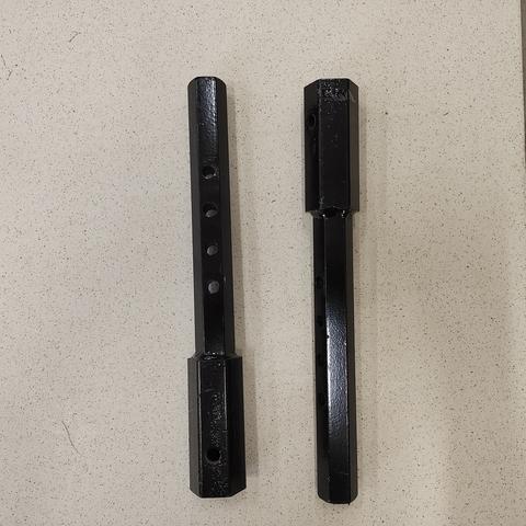 Удлинители оси к мотоблоку (шестигранник, 23 мм)