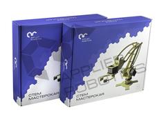 Образовательный набор для изучения многокомпонентных робототехнических систем и манипуляционных роботов. Образовательный робототехнический комплект