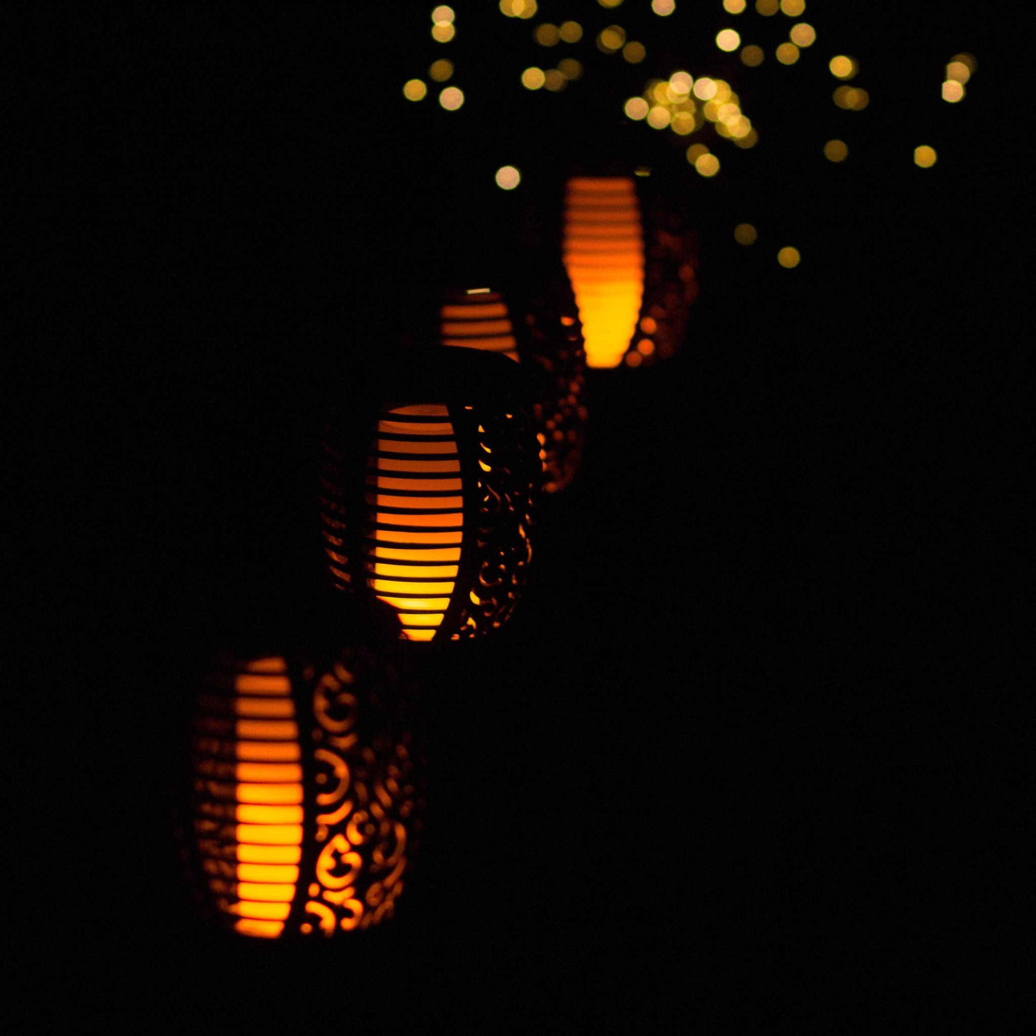 Светильник-факел EPECOLED с эффектом пламени (на солнечной батарее, 96LED)