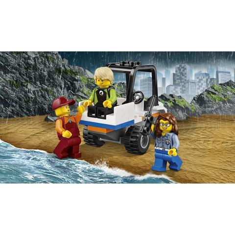 LEGO City: Береговая охрана: Набор для начинающих 60163 — Coast Guard Starter Set — Лего Сити Город