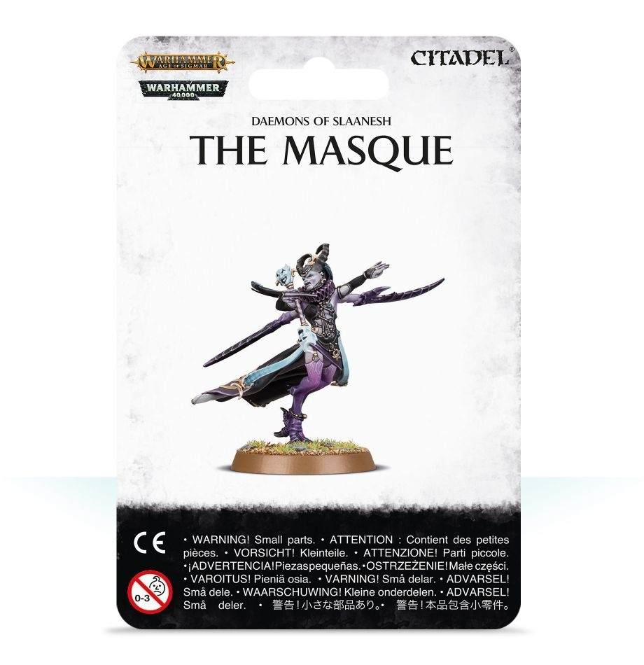 Daemons of Slaanesh: The Masque / Маска