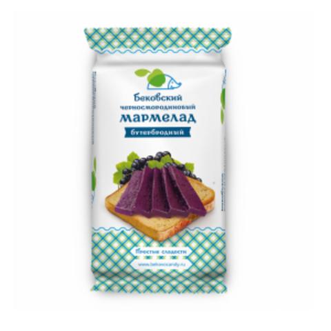 Бековский черносмородиновый бутербродный мармелад 270 грамм