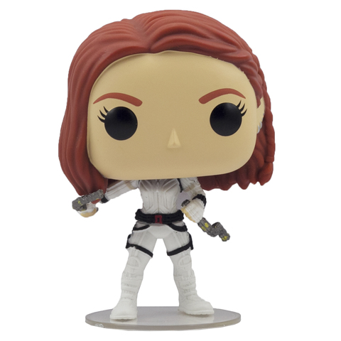 Фигурка Funko POP! Bobble: Marvel: Black Widow: Black Widow (White Suit)