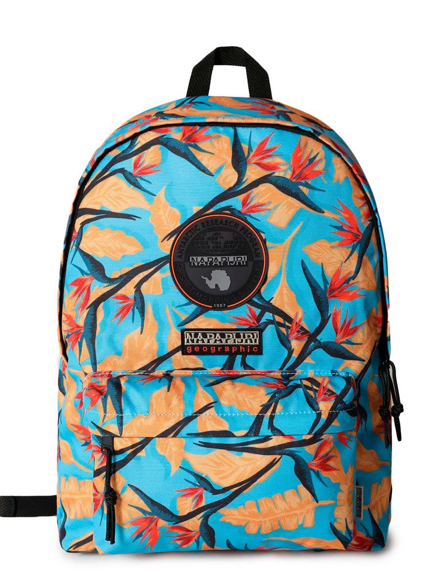 Napapijri рюкзак Voyage S Print голубые цветы
