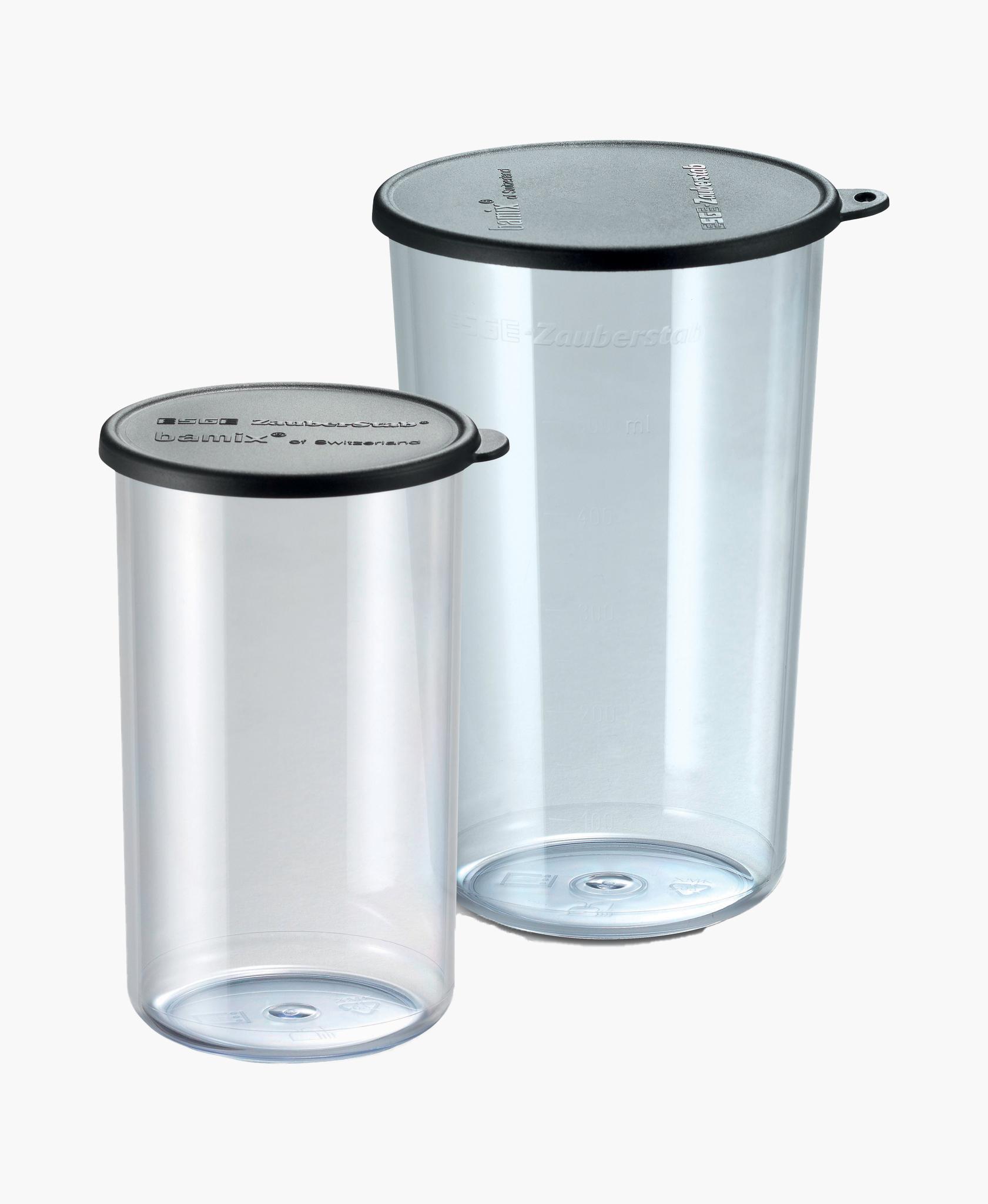 Набор стаканов с крышками Bamix 450.050 400мл+600мл (origin box)
