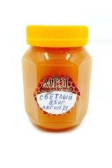 Мёд среднегорный светлый 0,5кг