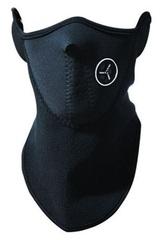 Балаклава, маска на пол-лица (модель №1) черная