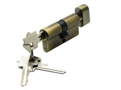 Цилиндр ключ-завертка CYL 3-60 TR BRONZE