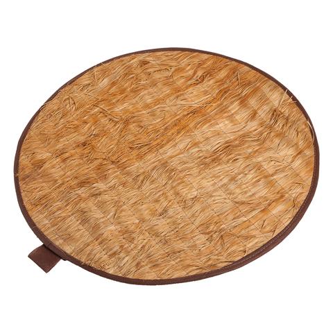 Коврик из лыка круглый, 45х45 см