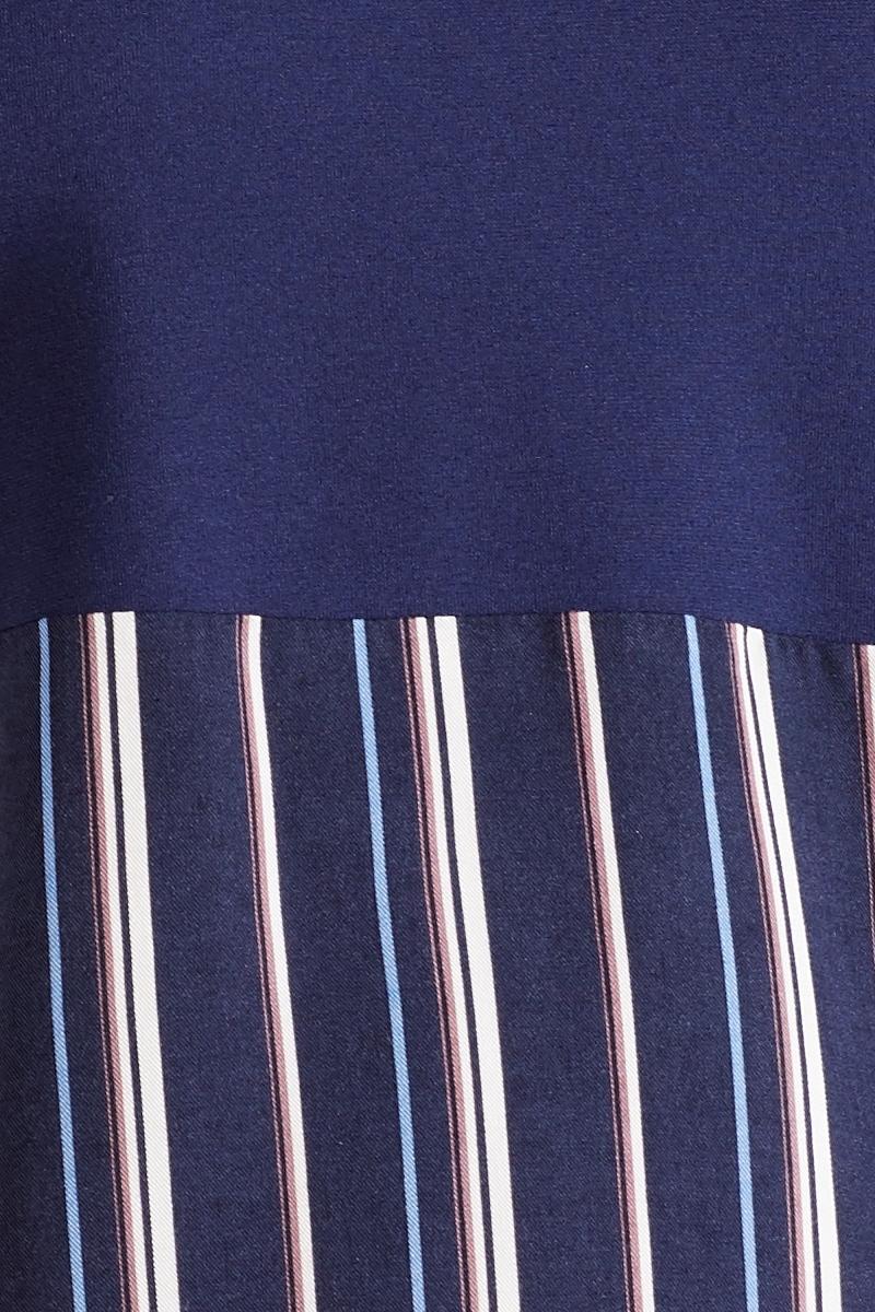 Джемпер для беременных 09877 синий