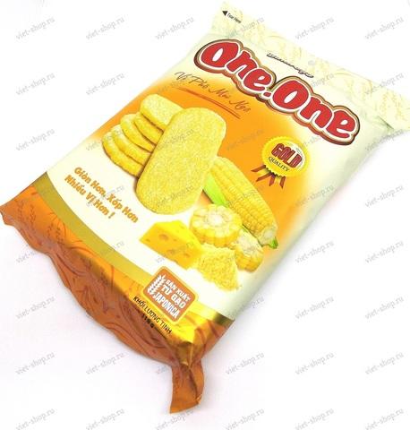 Вьетнамские рисовые крекеры со вкусом кукурузы и сыра One.One, 118гр.