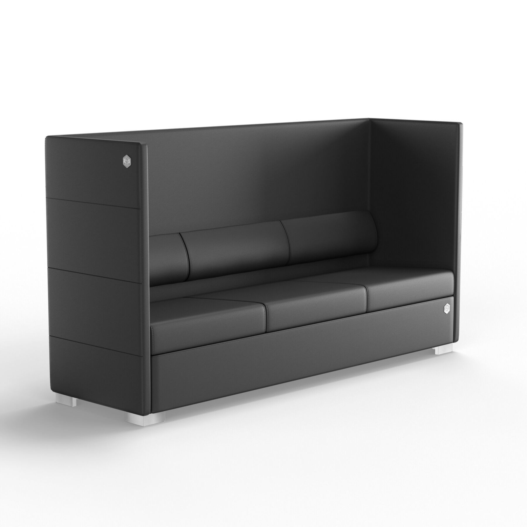 Трехместный диван KULIK SYSTEM PRIVATE Кожа 3