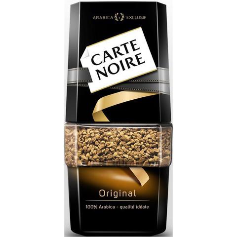 Кофе растворимый Carte Noire Original 95 г (стекло)