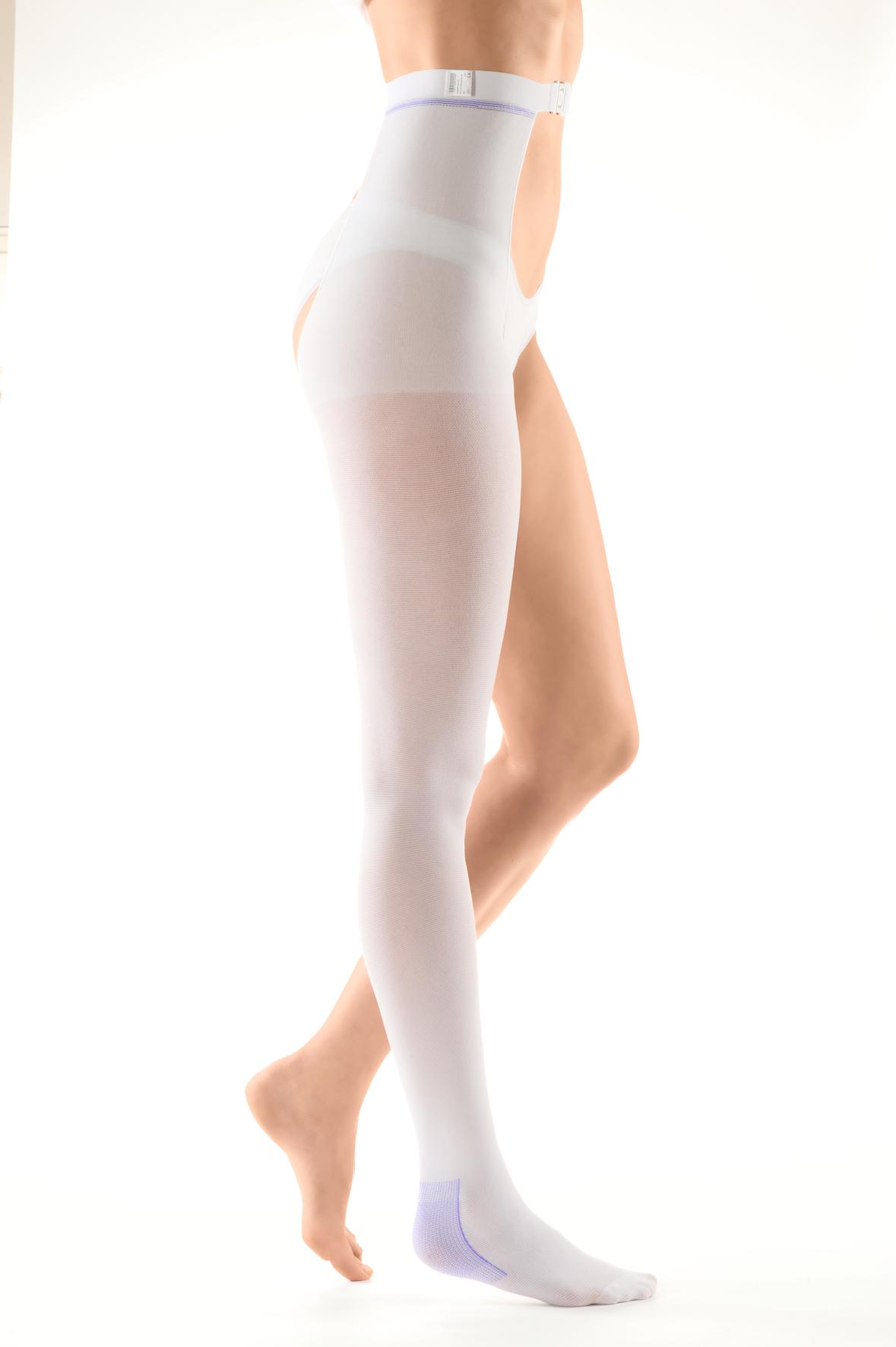 II класса компрессии Чулки антиэмболические с застежкой на талии mediven® struva 23 - белые 11274909.jpg
